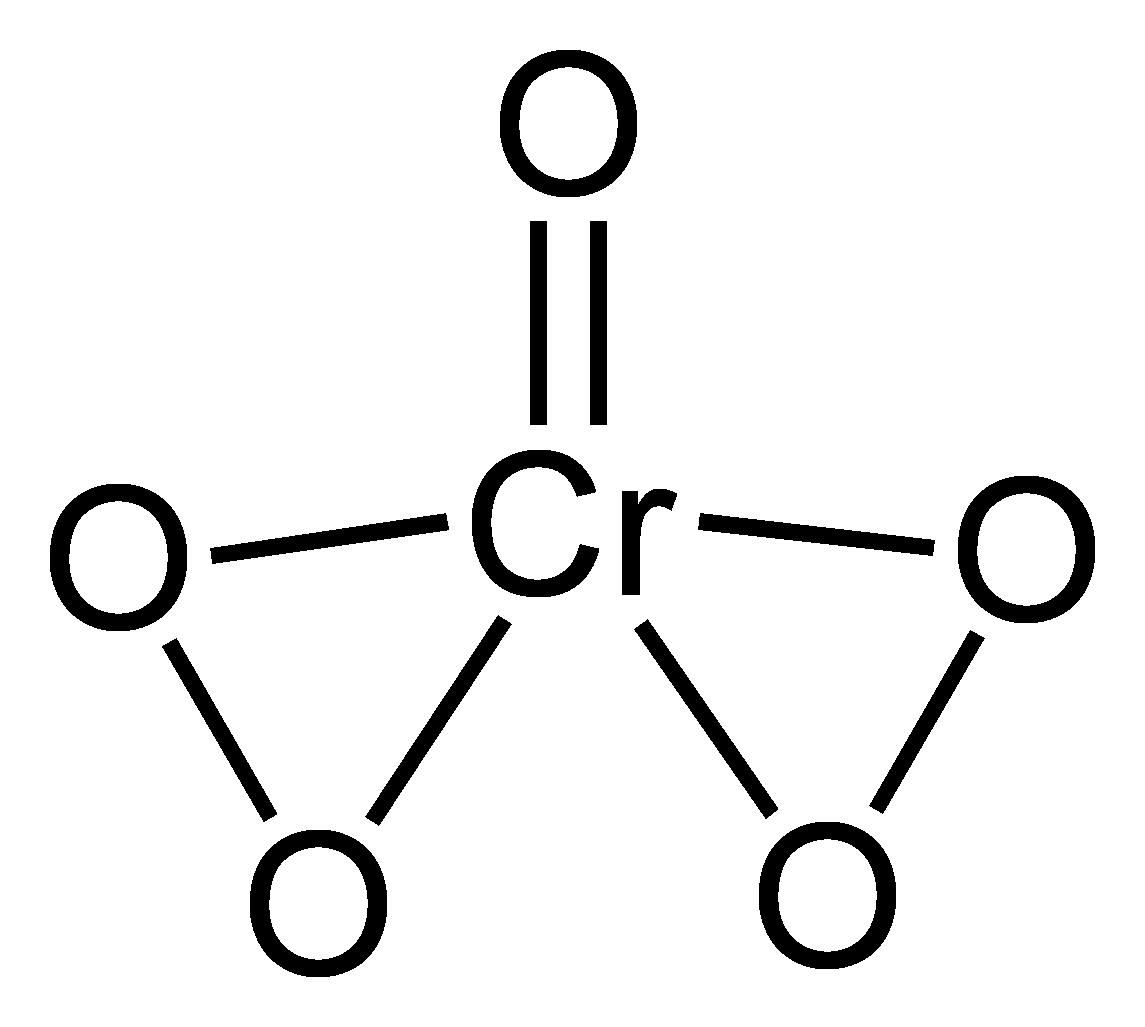 Chromiumvi Oxide Peroxide Wikipedia