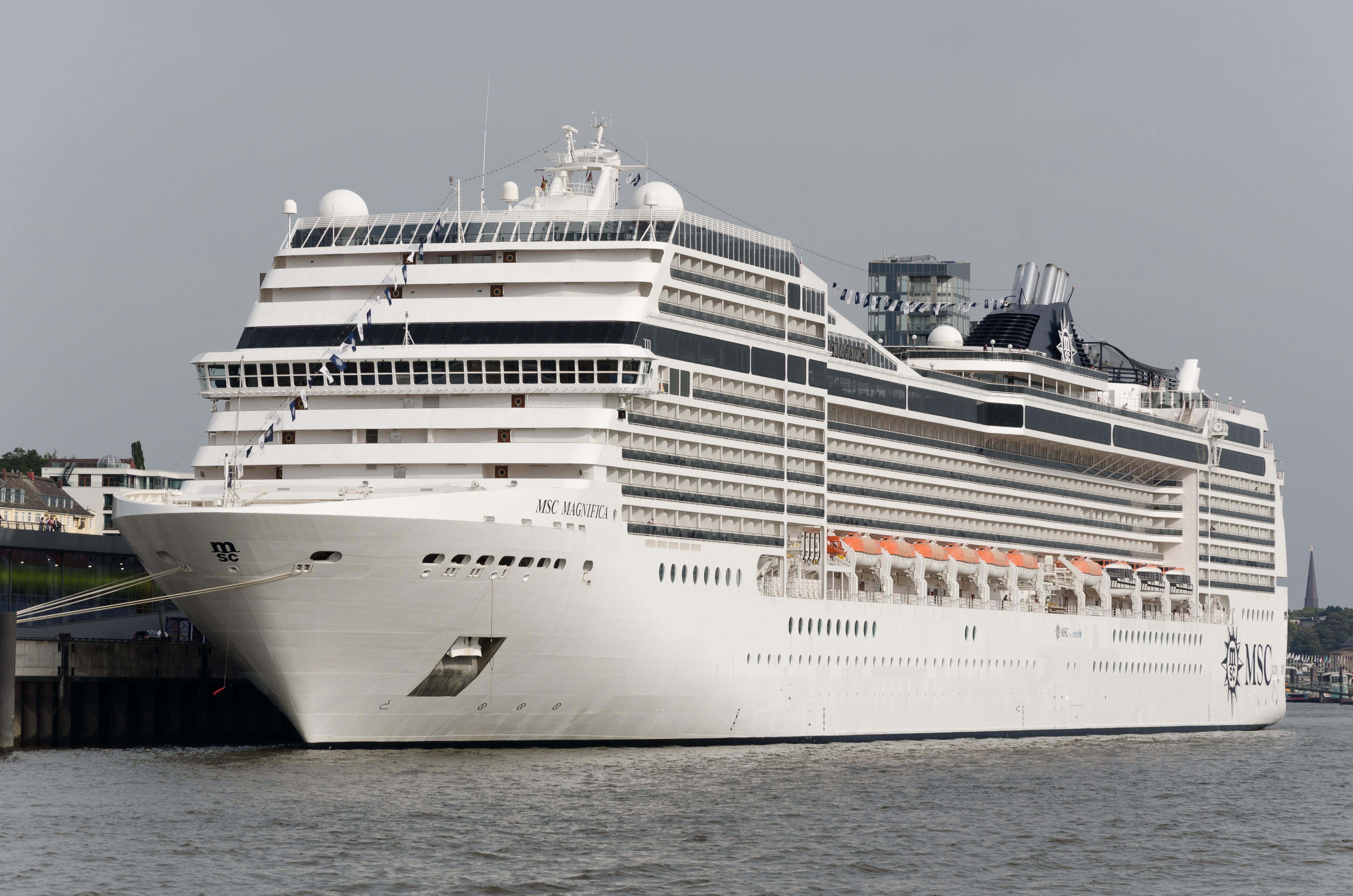 File:Cruise ship MSC Magnifica IMO9387085 Hamburg Germany ...