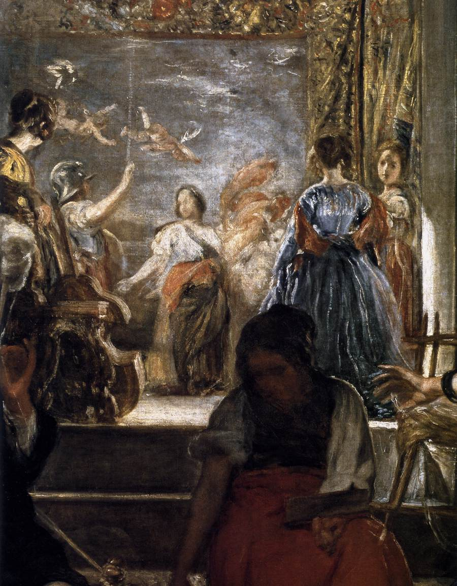 File:Detail of Las hilanderas (2), by Diego Velázquez.jpg ...