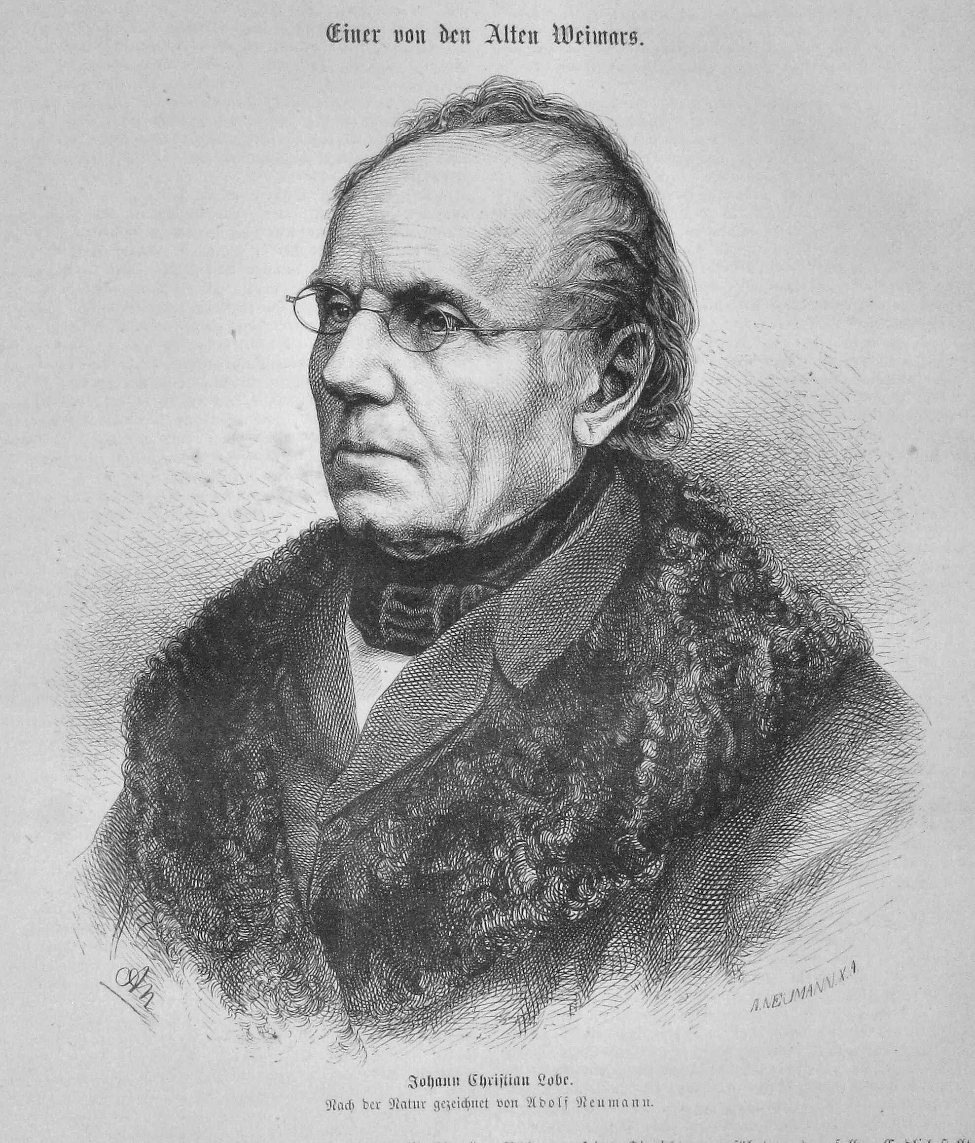 Johann Christian Lobe.