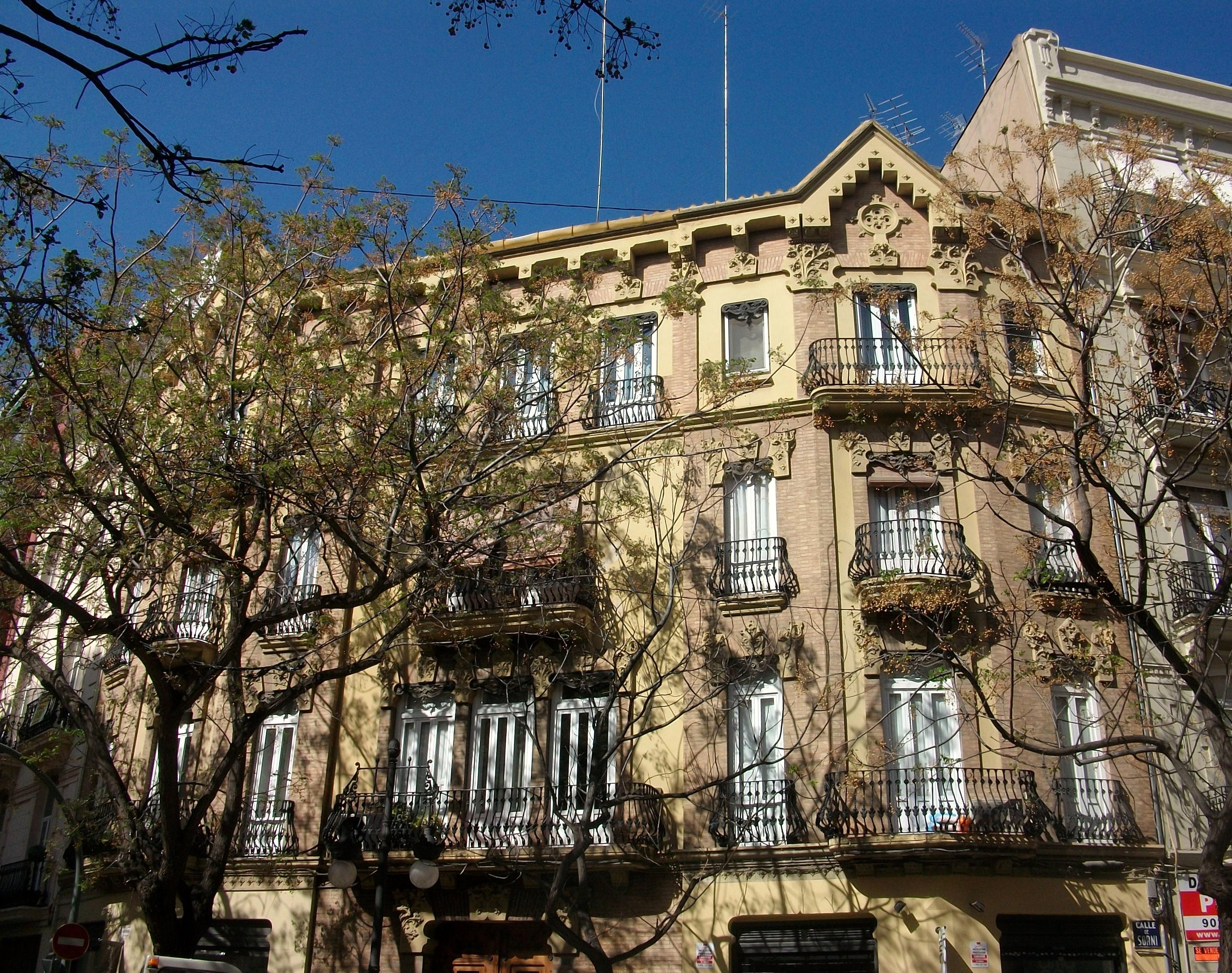 Archivo edifici cortina p rez val ncia jpg wikipedia - Cortinas valencia ...