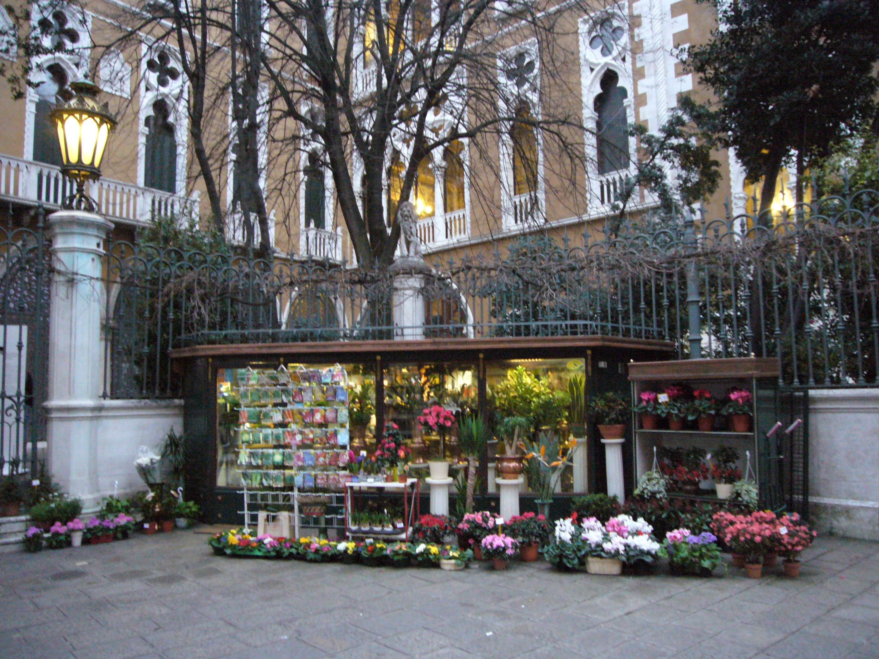 File Flower shop in venezia Wikimedia mons