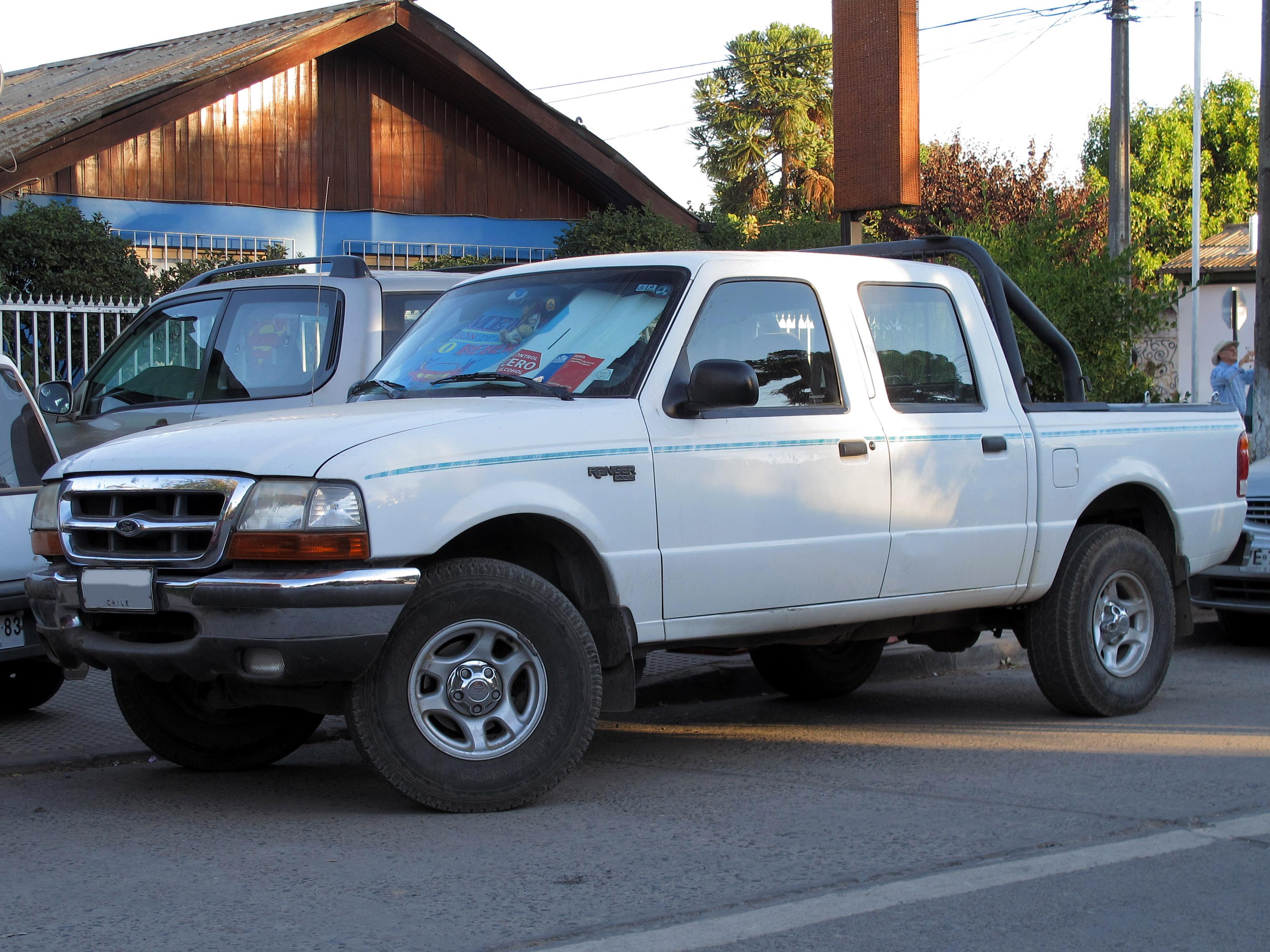 Crew cab ford ranger