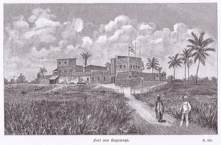 Fort of Bagamoyo, форт Багамойо