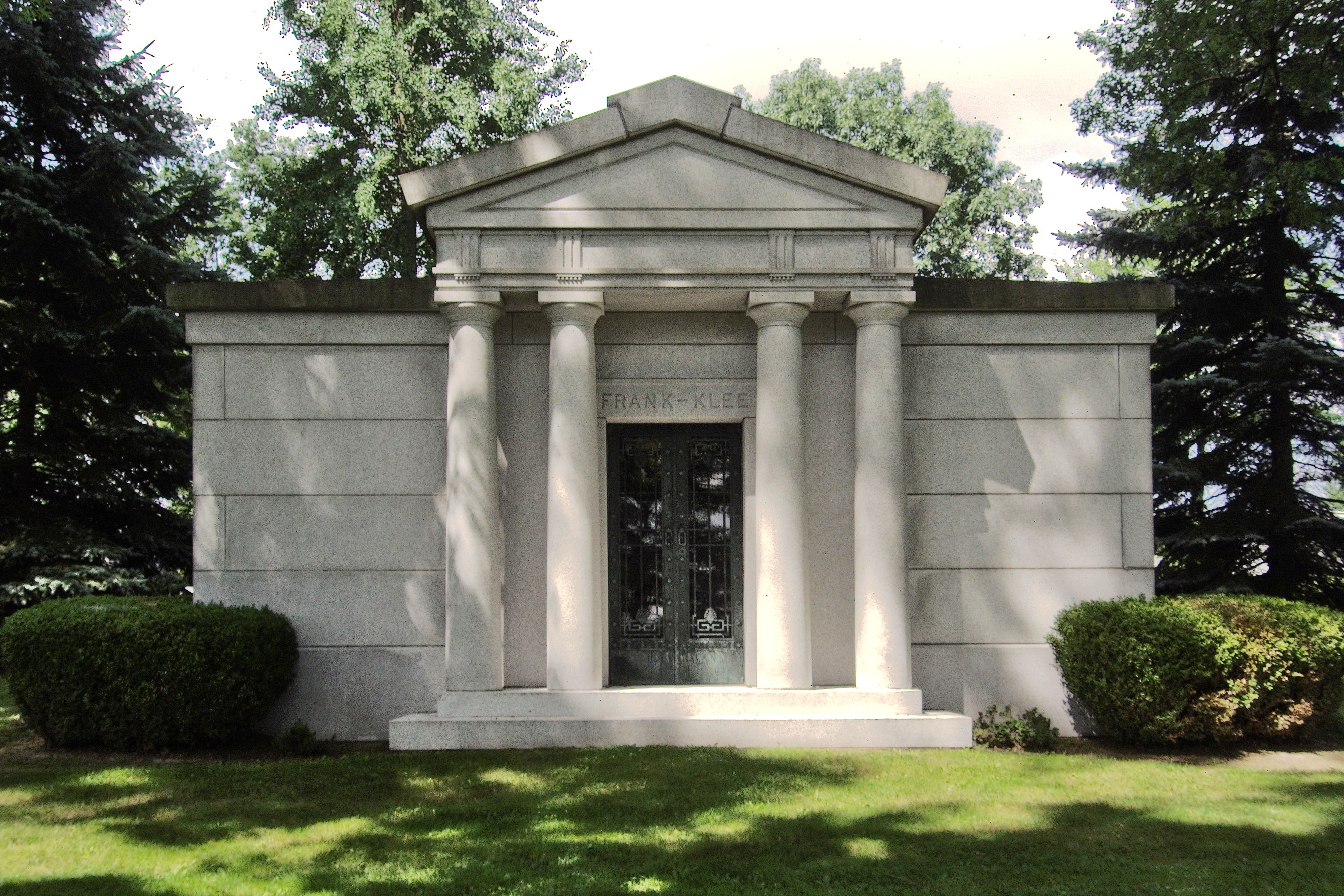 Frank-Klee Mausoleum, West View Cemetery | Pittsburgh ...