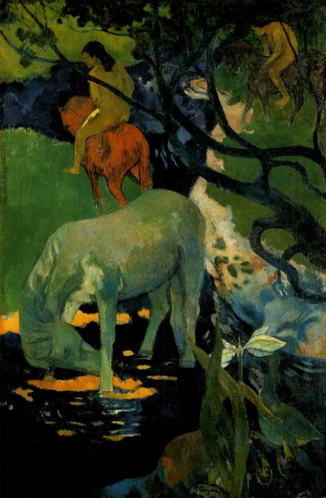 File:Gauguin Le cheval blanc.jpg