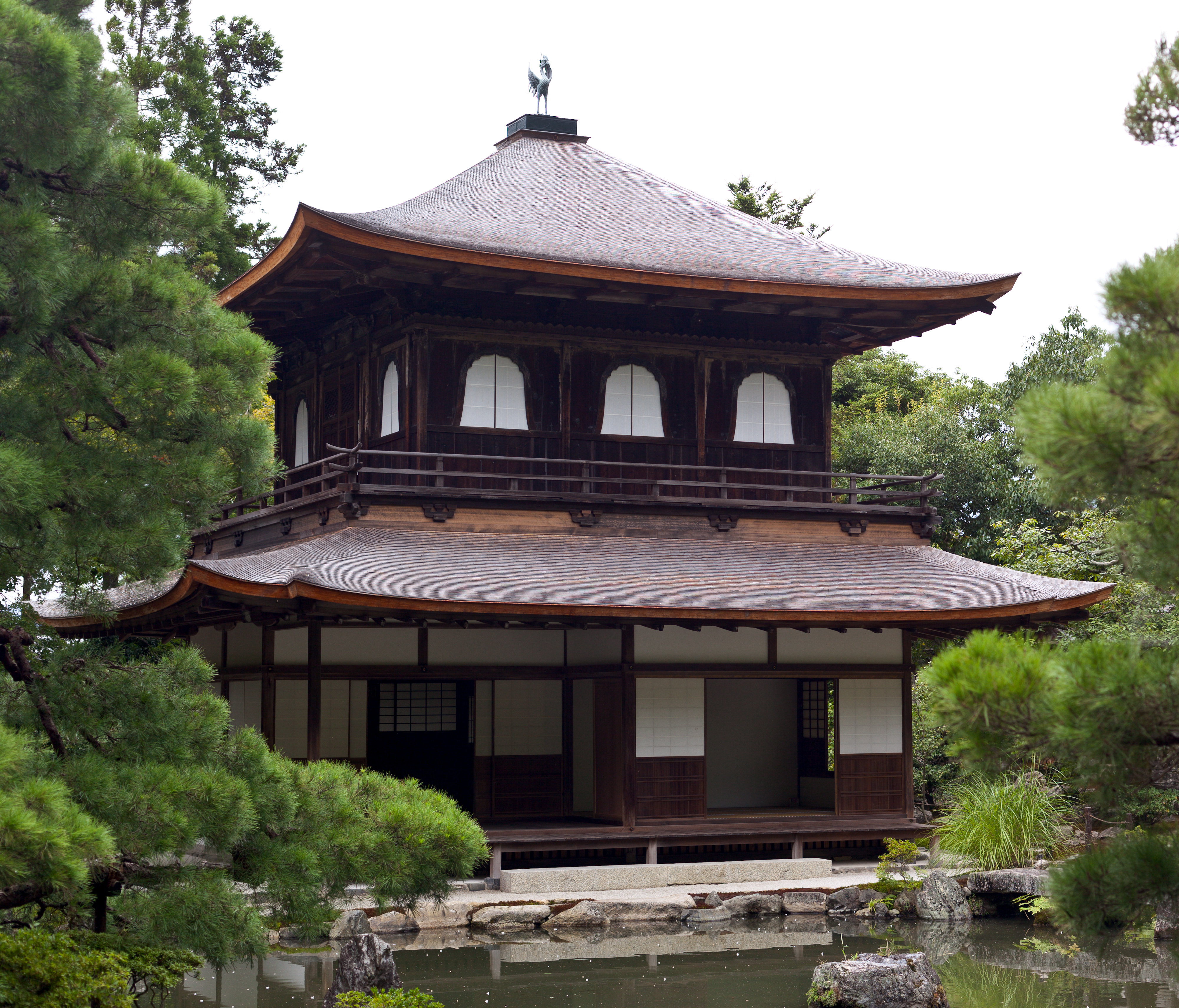 File Ginkaku Ji After Being Restored In Wikimedia Commons