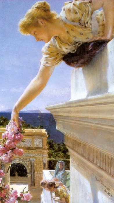 God Speed!. 1893. Sir Lawrence Alma-Tadema