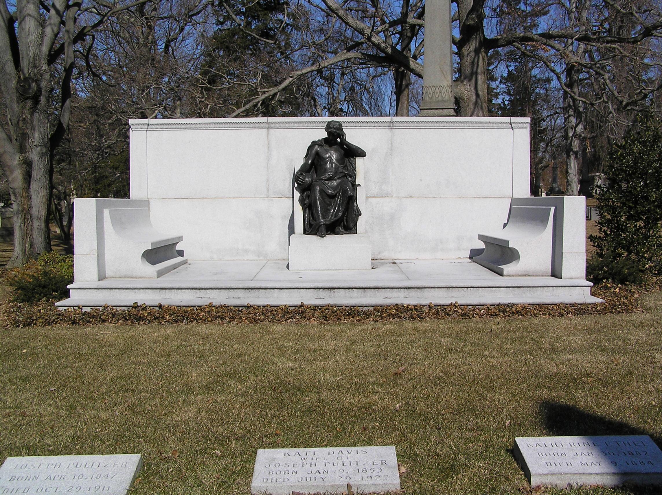 Grab von Joseph Pulitzer
