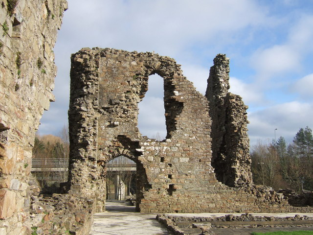 Haverfordwest priory ruins - geograph.org.uk - 322724