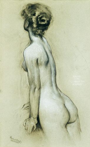 File:Herbert James Draper, Study for a Naiad in Icarus..jpg