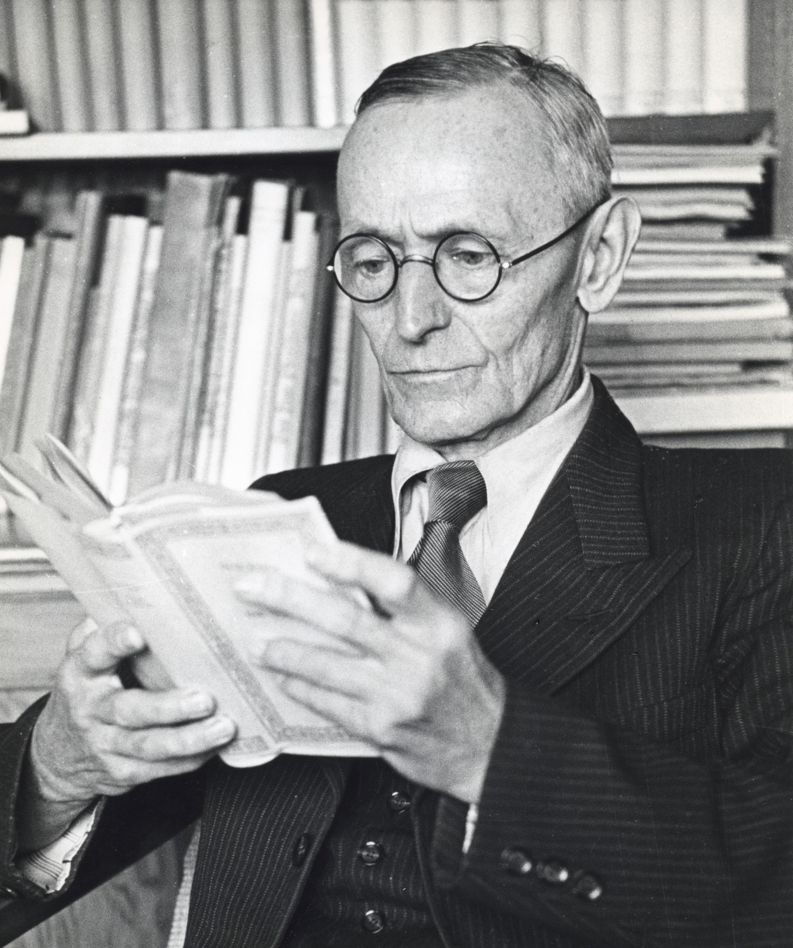 Portrait of Hermann Hesse