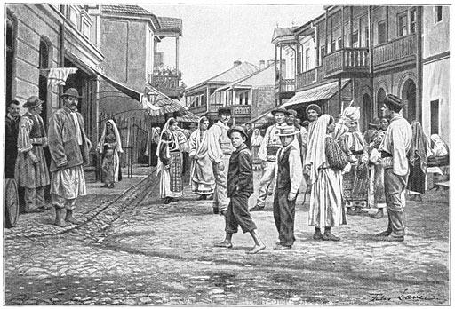 Fişier:Het stadje Horezu.jpg