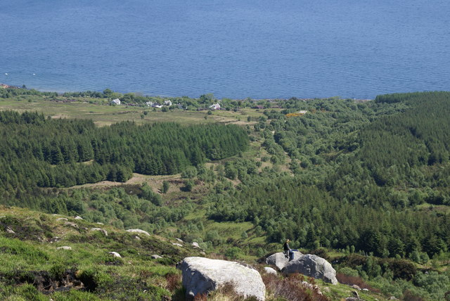 High Corrie from the Goatfell path Isle of Arran - geograph.org.uk - 1270456