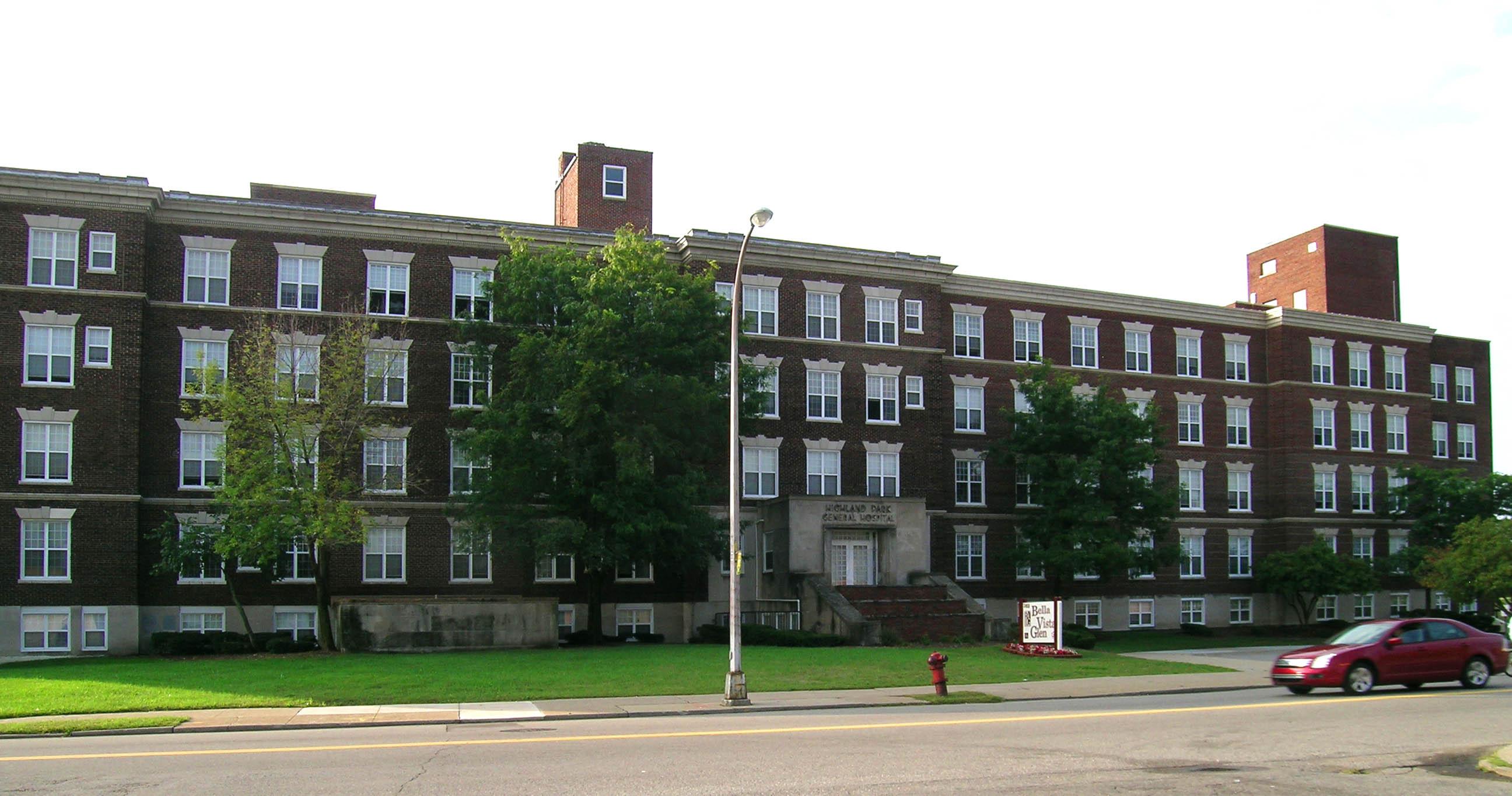 File Highland Park Mi General Hospital Jpg Wikimedia Commons