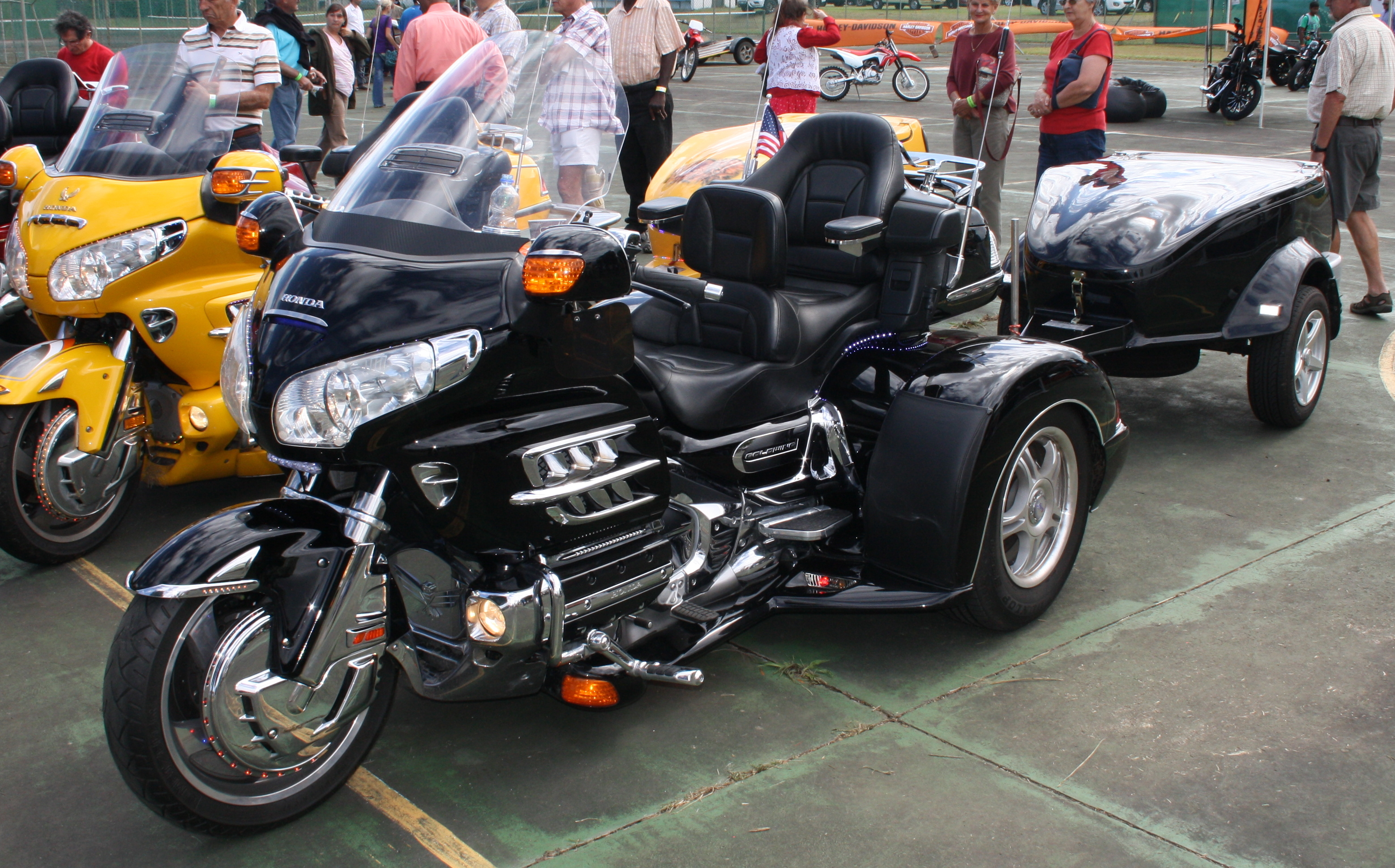 honda goldwing trike with trailer. Black Bedroom Furniture Sets. Home Design Ideas