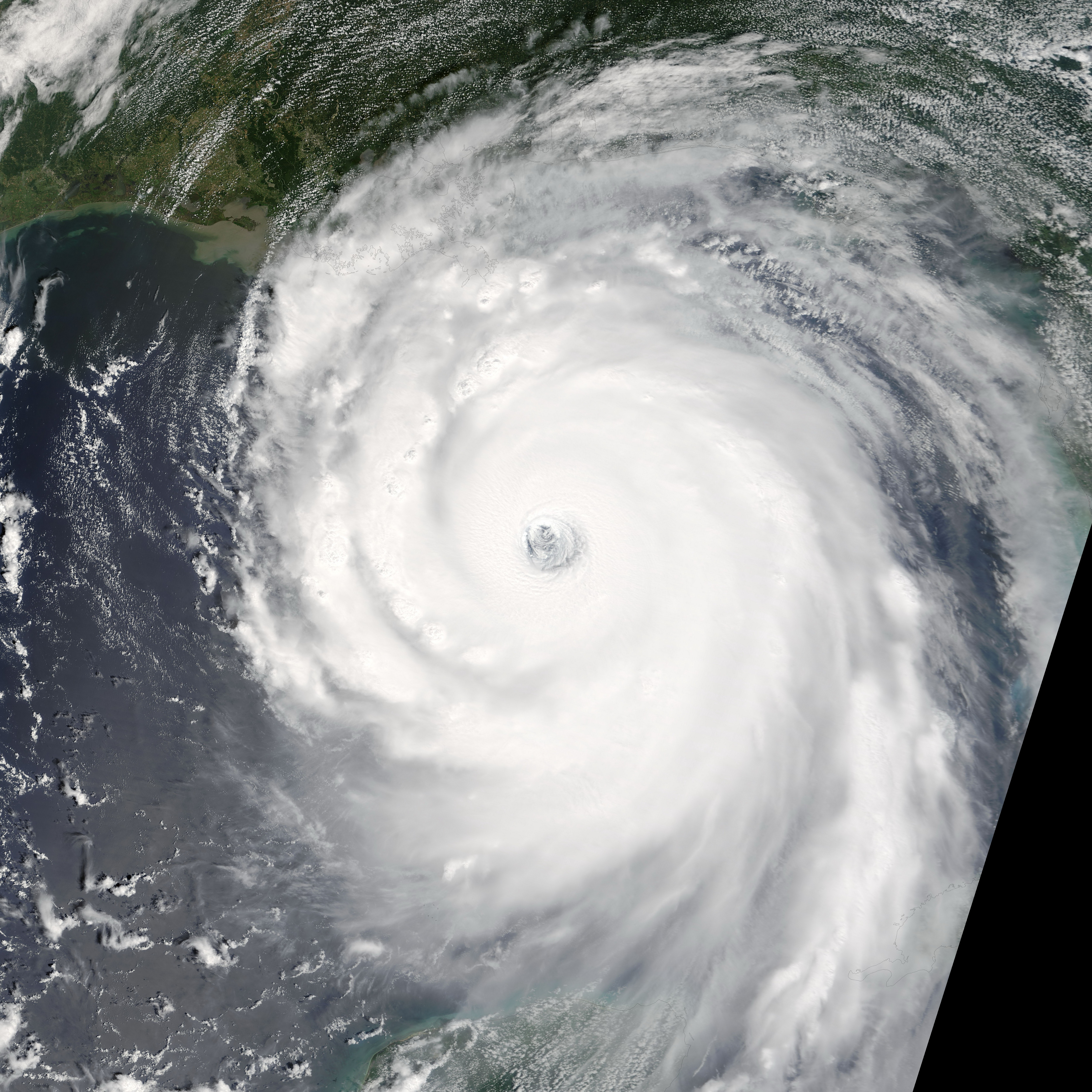 descriptive essay on hurricane katrina