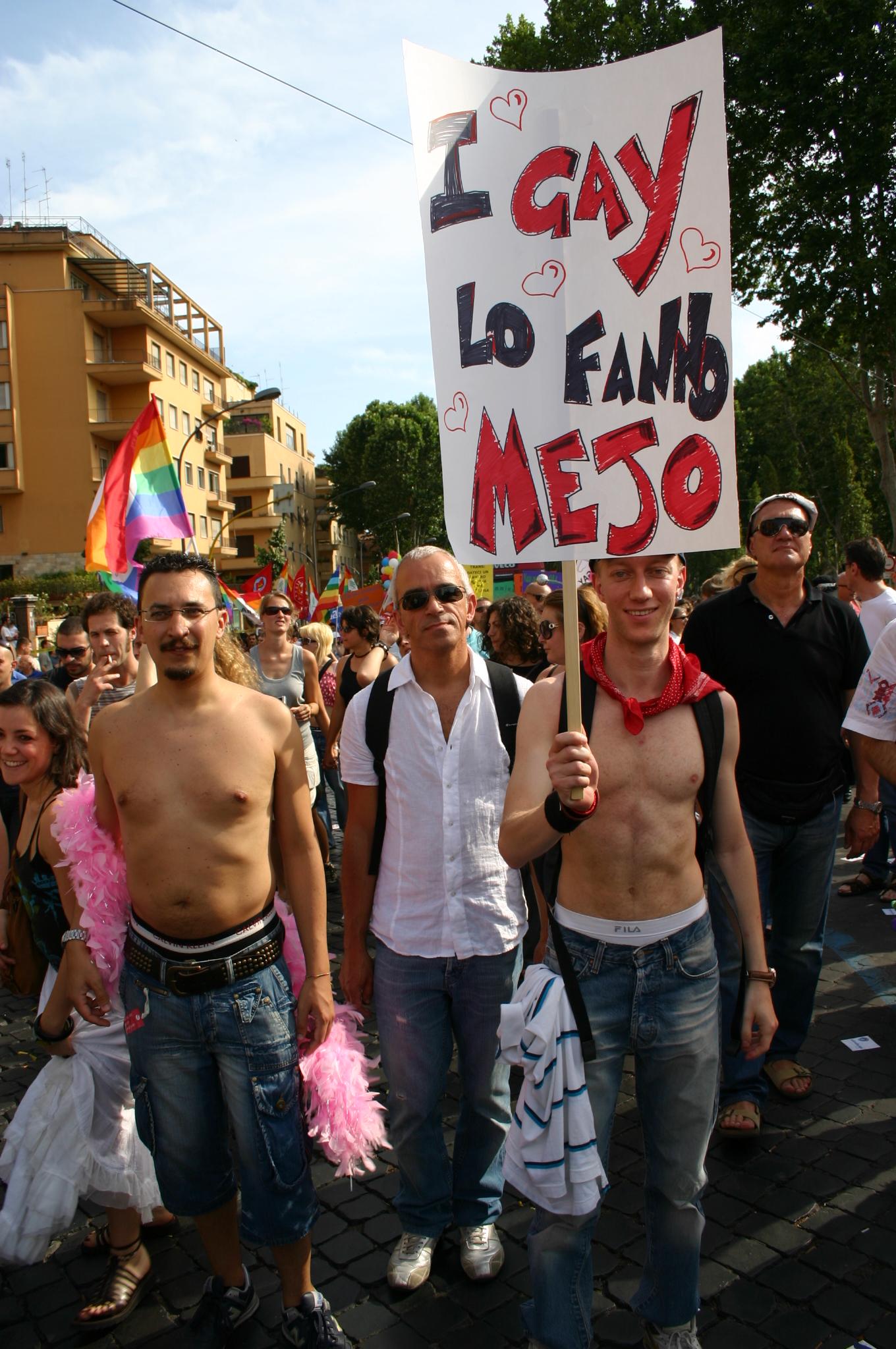 gay pride 2007 roma