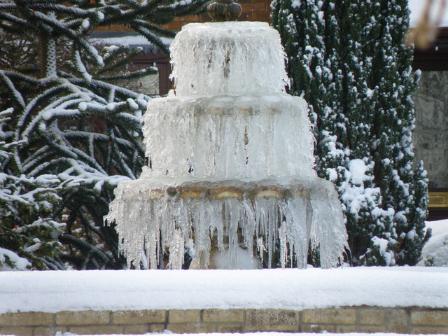 Ice Fountains For Cakes