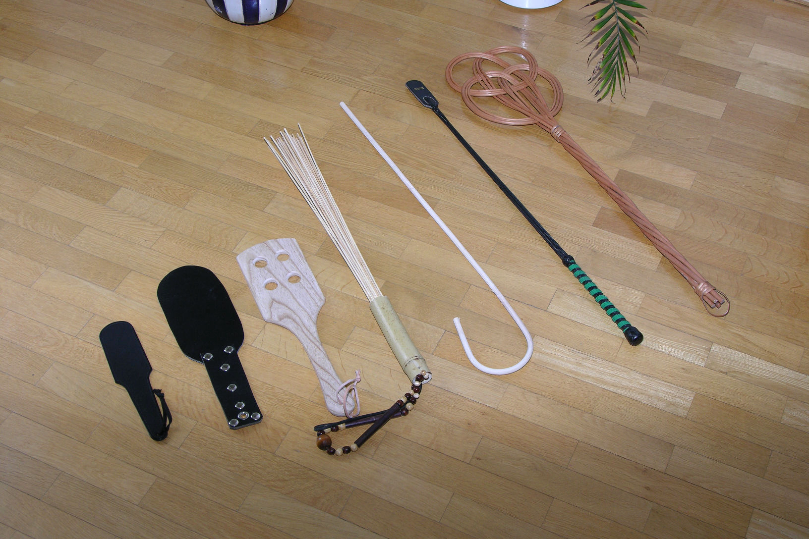 Objects to spank with