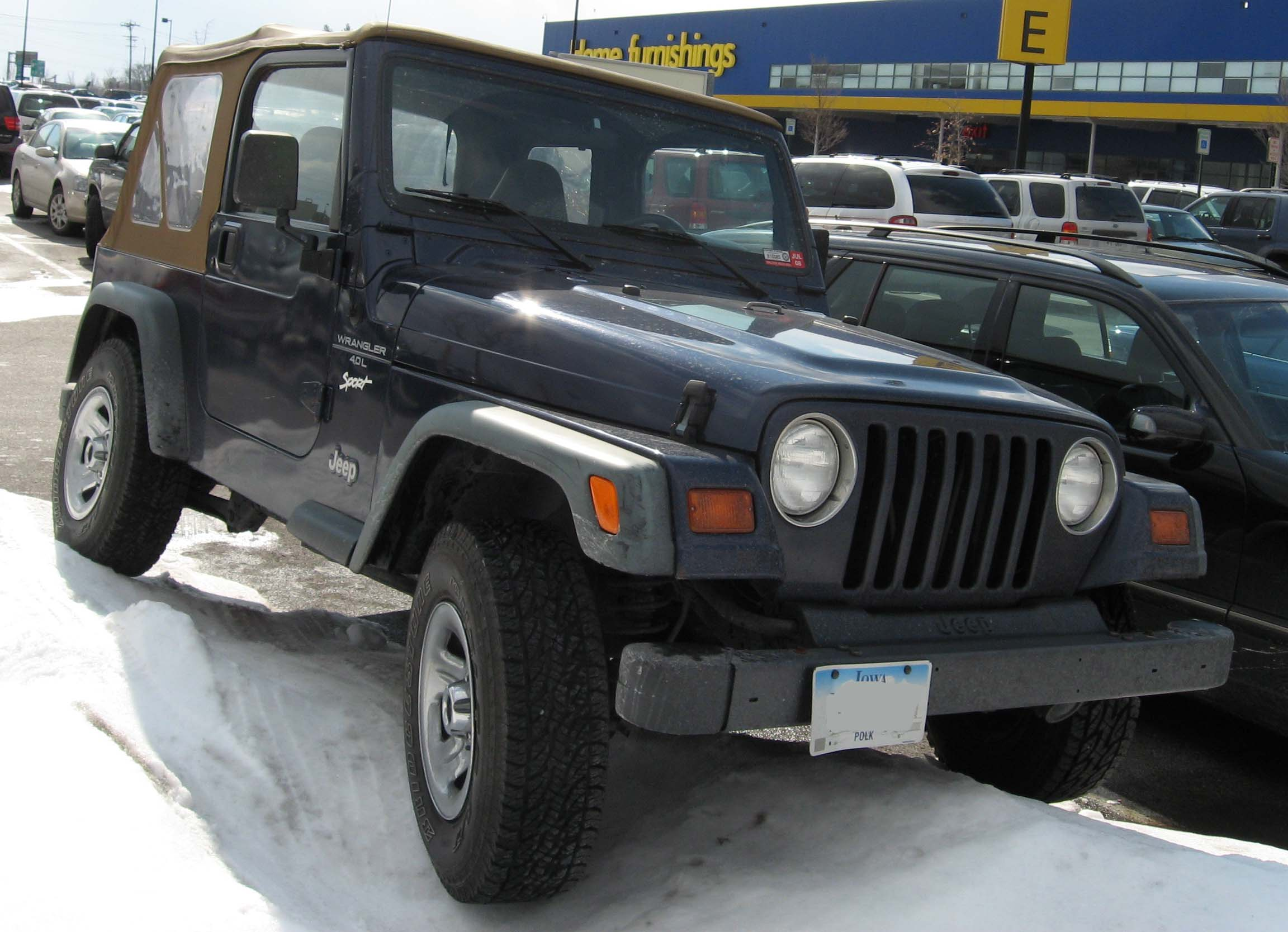 Used Jeep Wrangler Car Lot