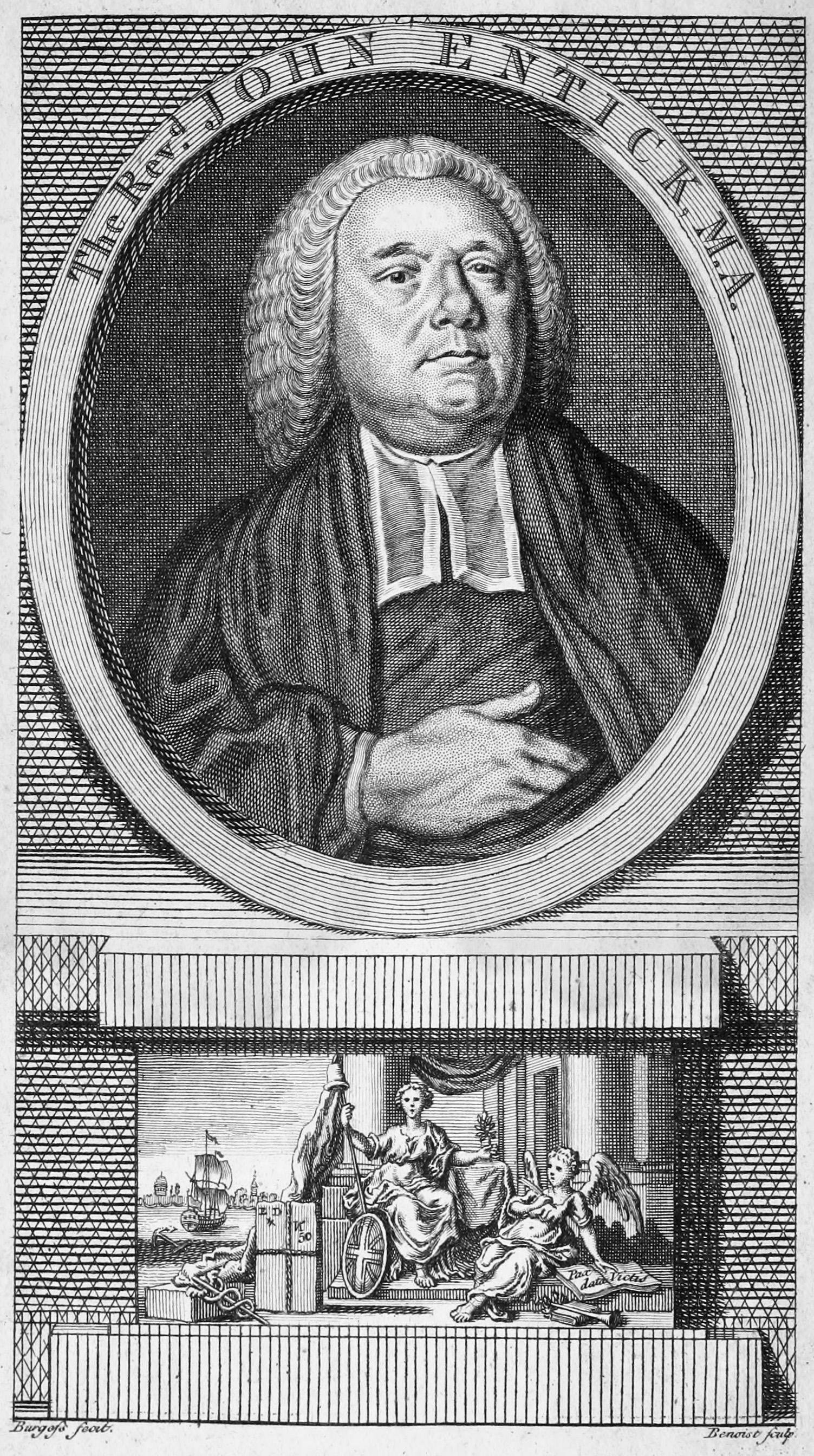 John Entick, 1763 engraving by [[Guillaume Philippe Benoist