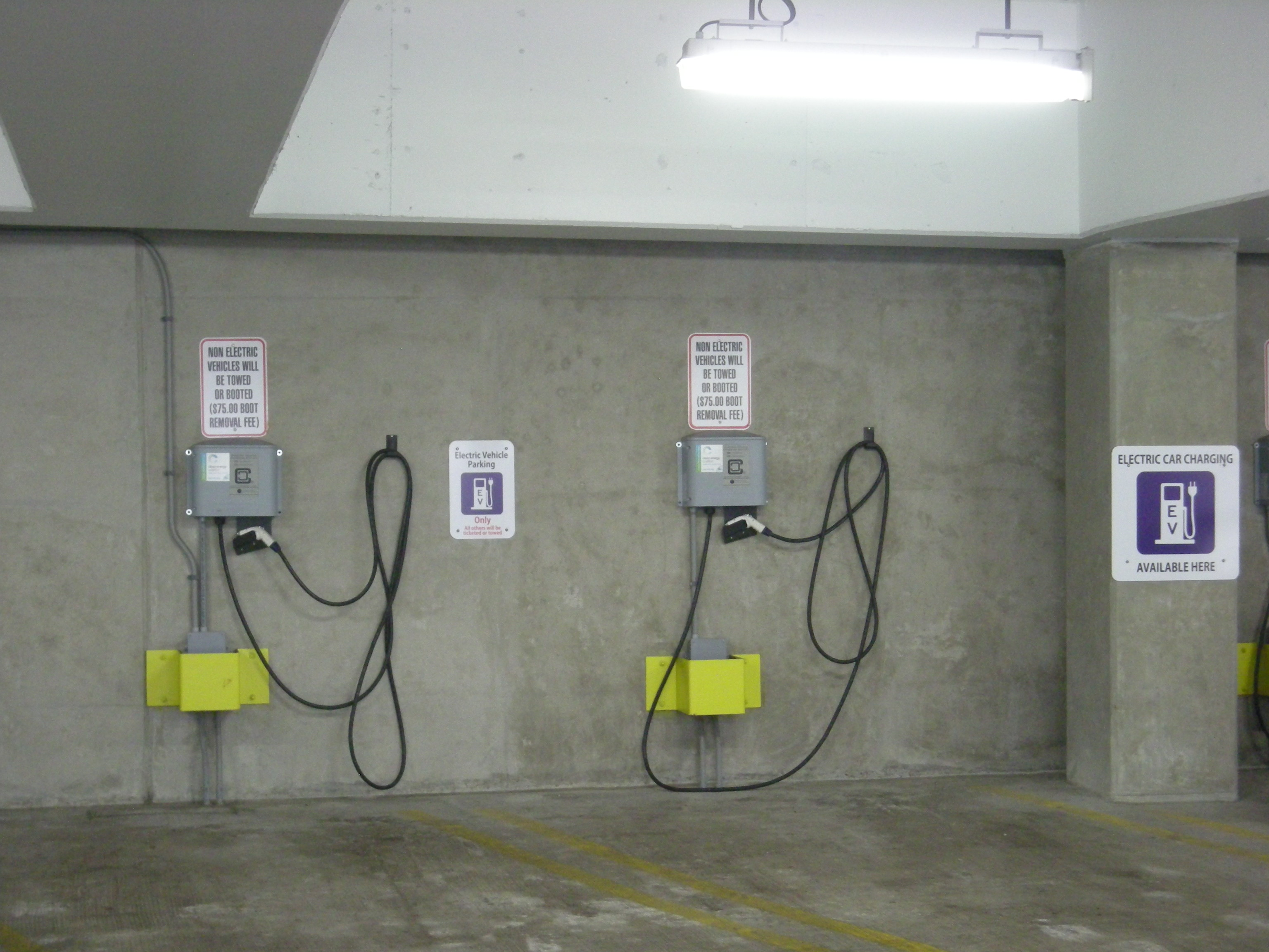 Installing Car Charging Stations Volta Electric