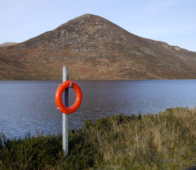 Lifebuoy, Silent Valley - geograph.org.uk - 1638230