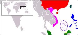 Localización de las islas