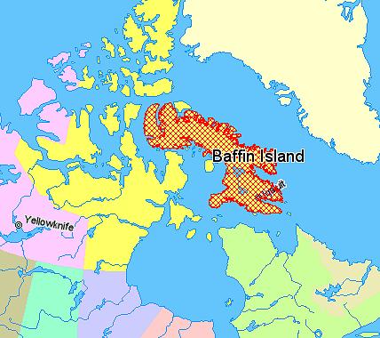 Baffin Island Map File:Map indicating Baffin Island, Nunavut, Canada.png   Wikimedia