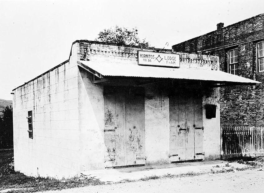 Bear Valley Ca >> Hornitos Masonic Hall No. 98 - Wikipedia
