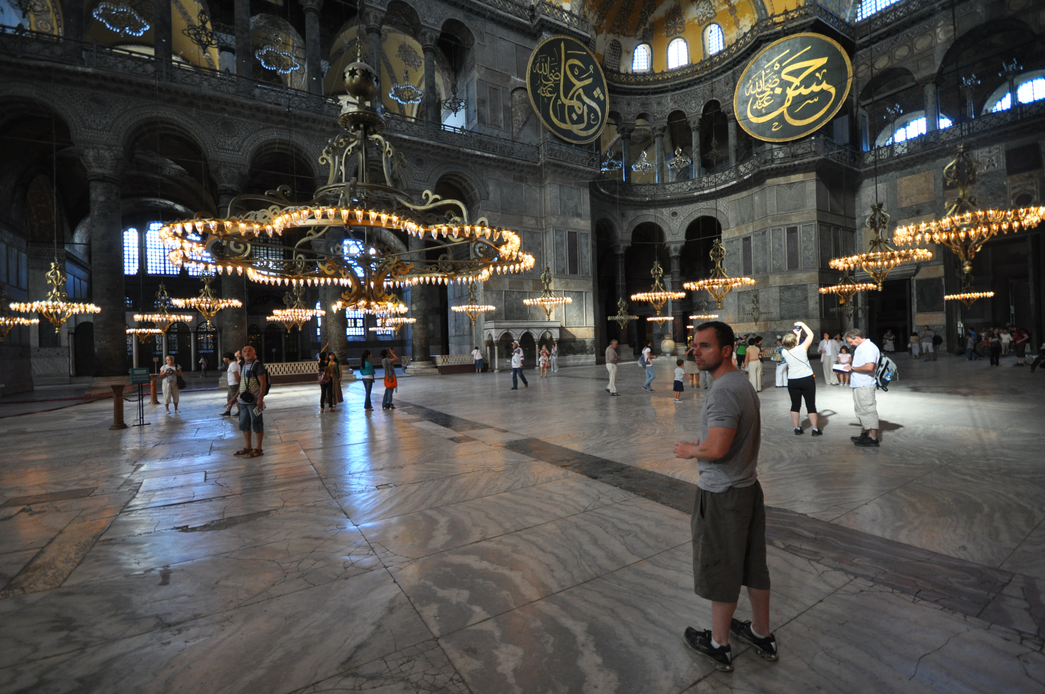 Filemassive chandeliers and main nave hagia sophia 8394754760 filemassive chandeliers and main nave hagia sophia 8394754760g aloadofball Images