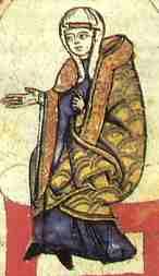 Matilde di Canossa dal Cod. Vat. lat. 4922