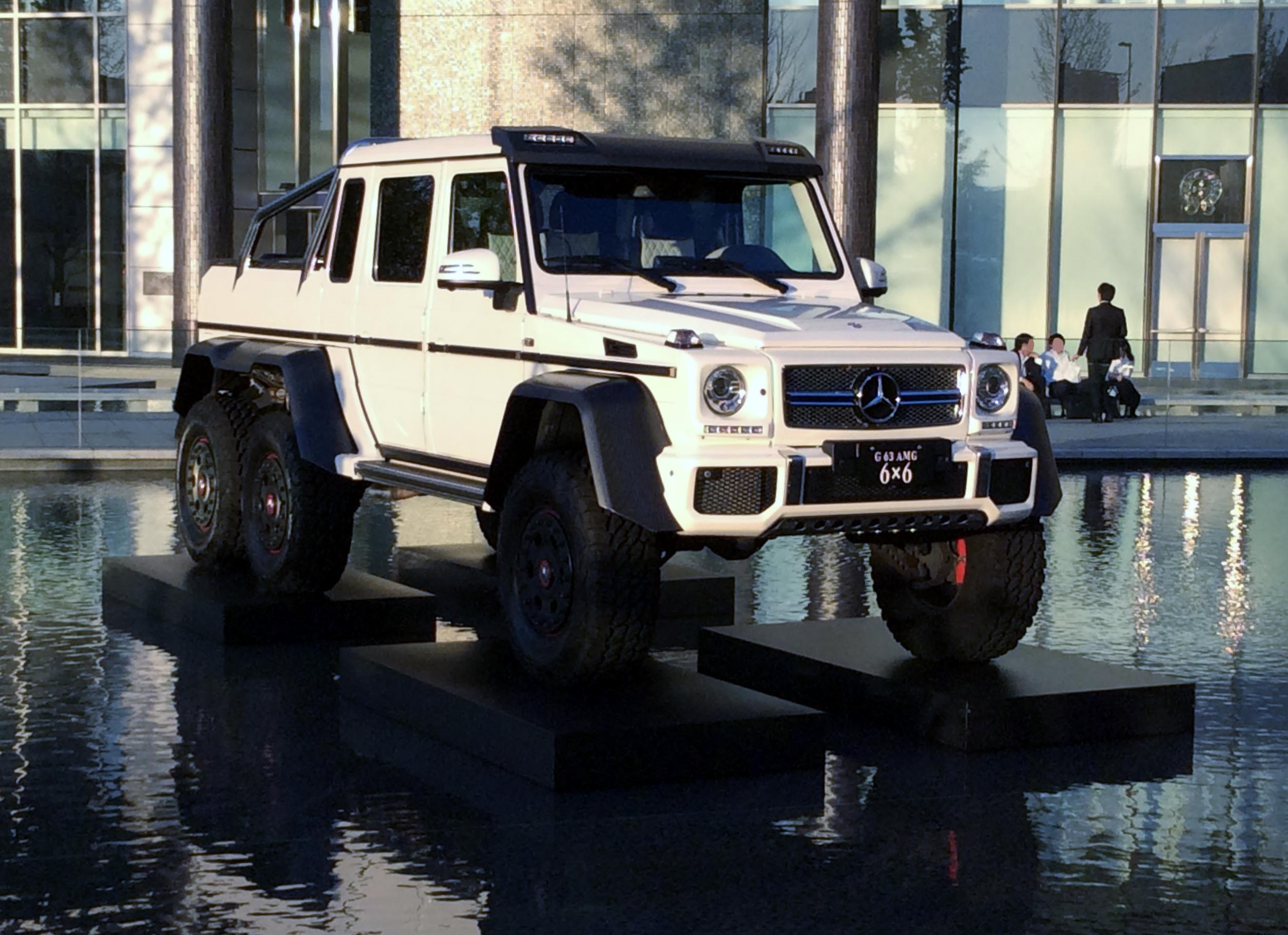 File Mercedes Benz G63 Amg 6 215 6 W463 Front Jpg
