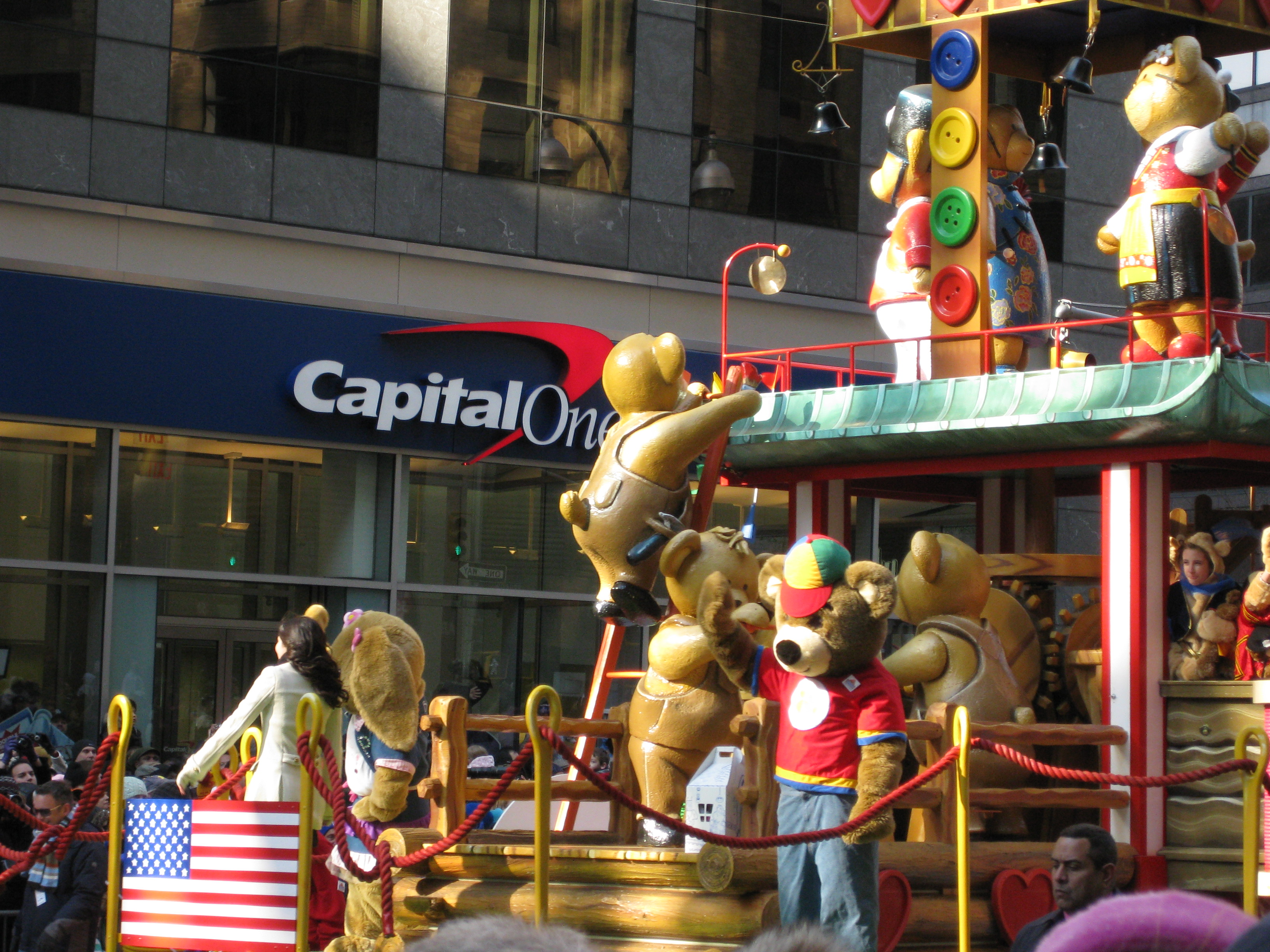 Build A Bear Float