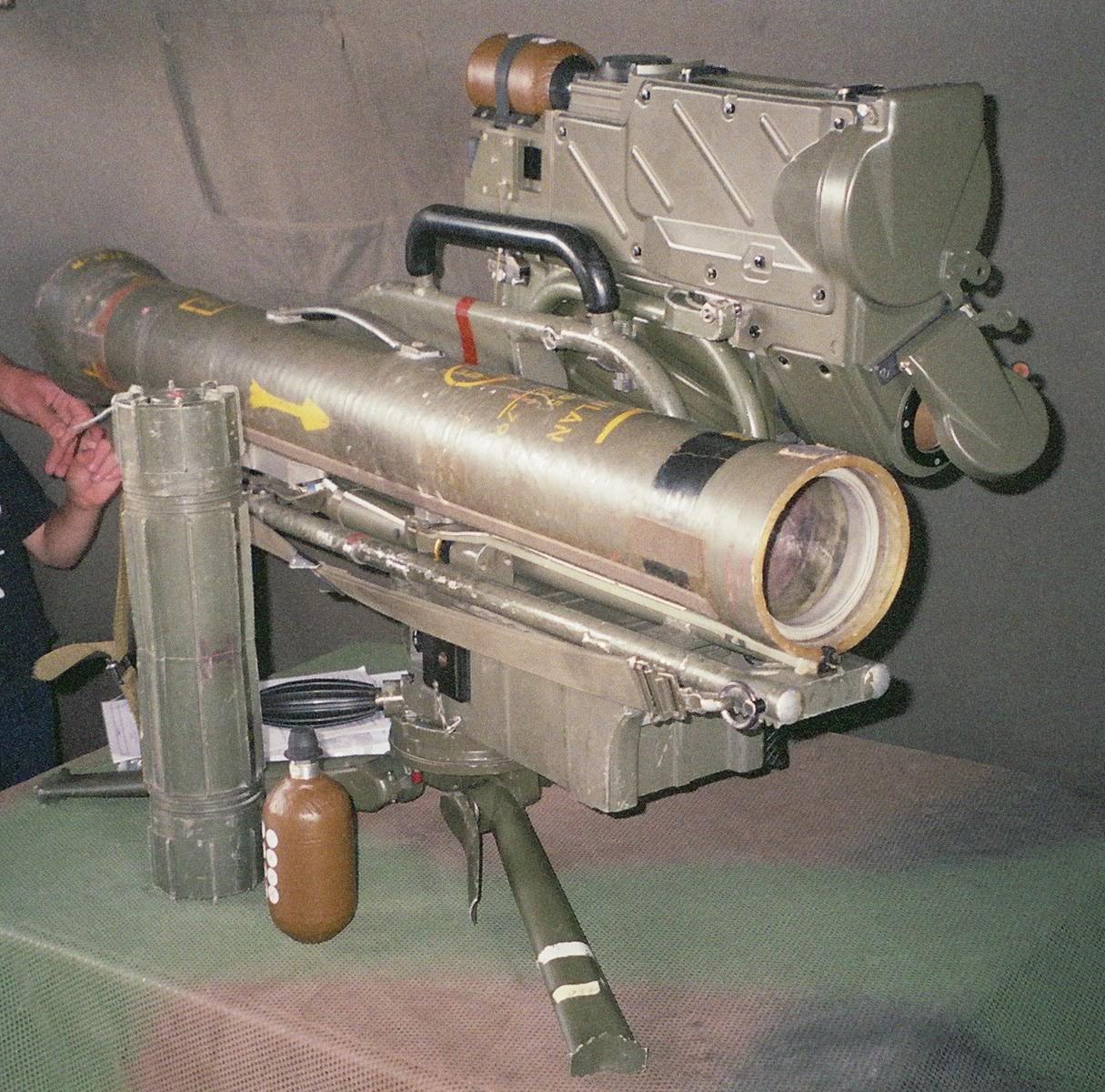 """المقذوف الموجه المضاد للدبابات""""milan""""  Missile_fh000022"""