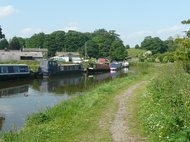 Moorings at East Marton - geograph.org.uk - 1377475