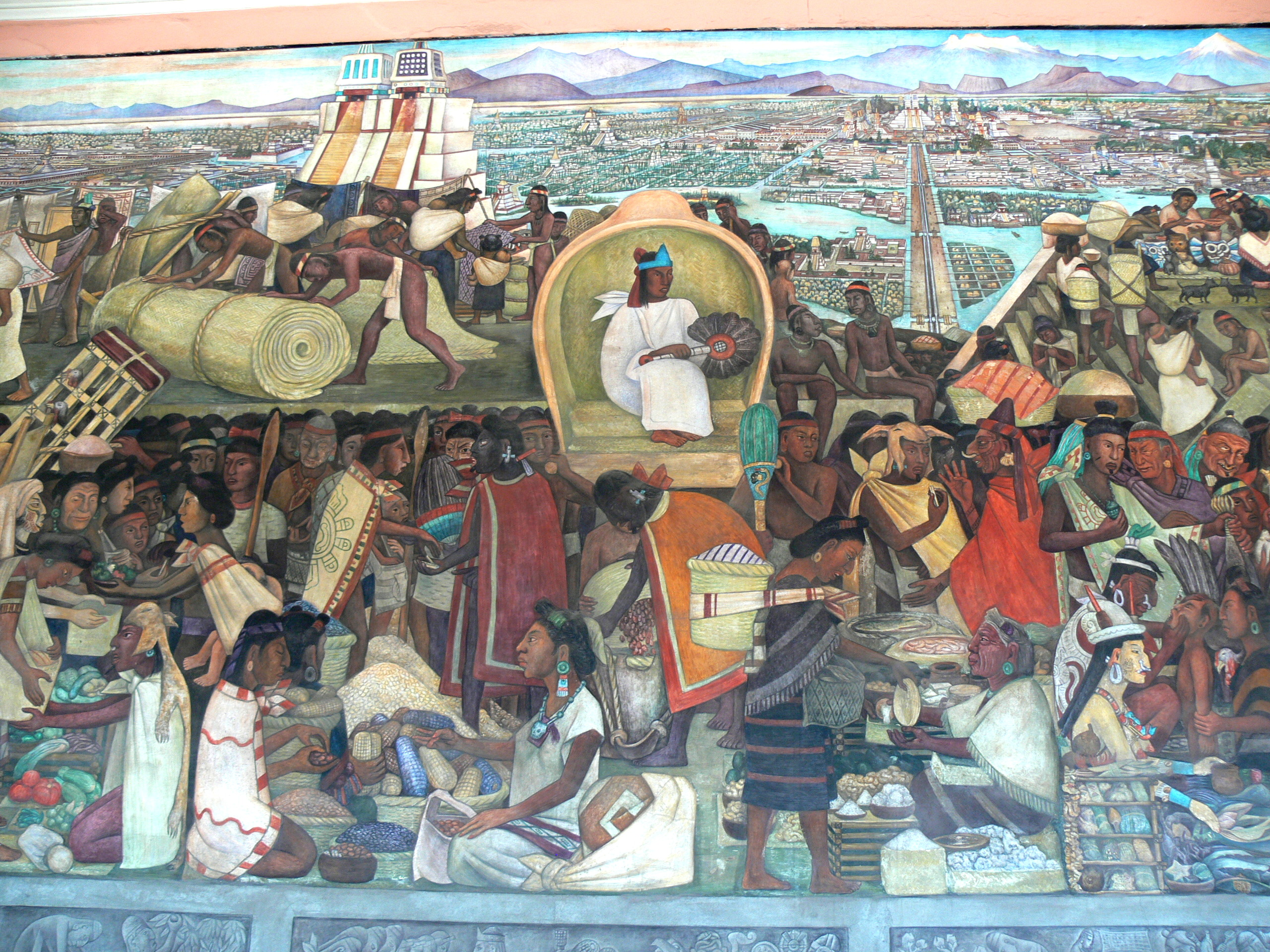 Diego rivera global guru radio for Diego rivera rockefeller mural