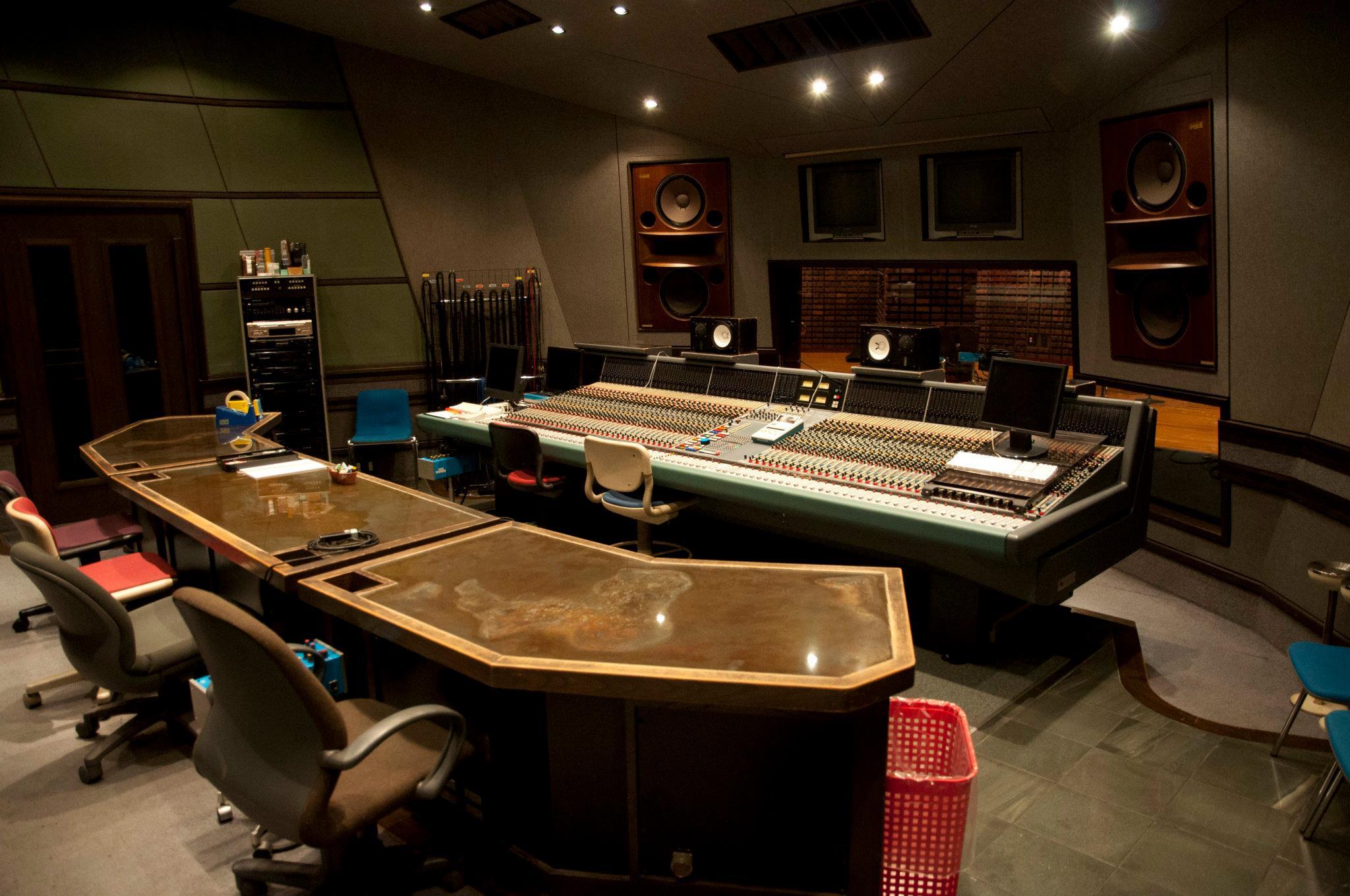 Recording Studio Control Room Walls