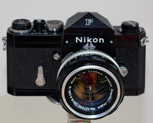 The Nikon F - Nikons first SLR released in 1959