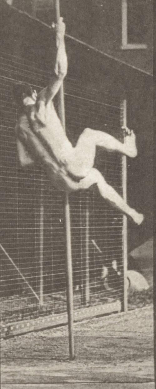 Naked Pole Vaulting Man 109
