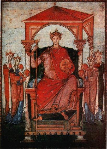 Coronación de Otón II.