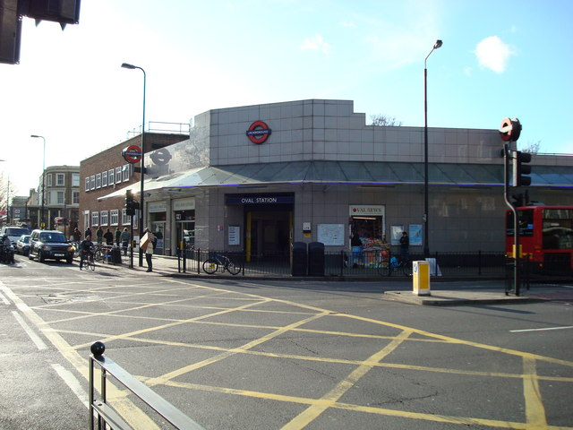 Oval Underground Station - geograph.org.uk - 674899