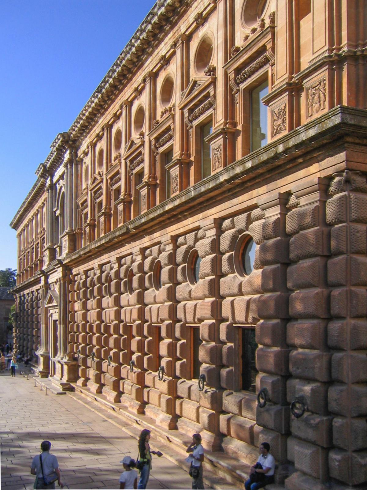 Palacio Carlos V south