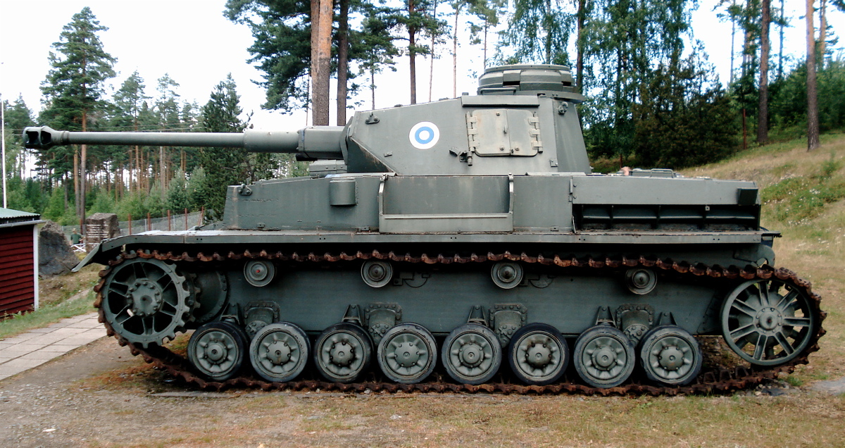 Panzer IV J at Parola Museum