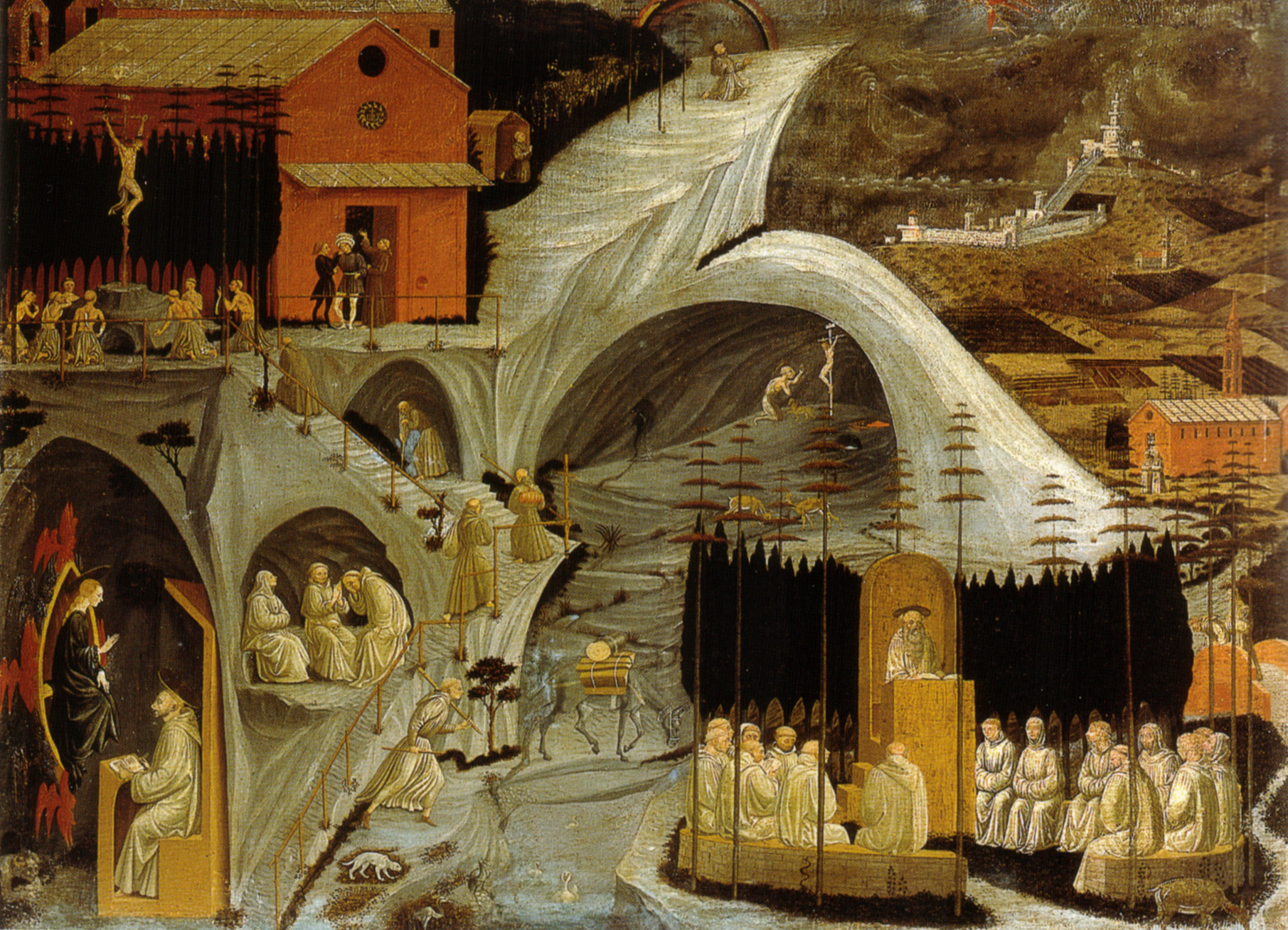 Galleria Hand Painted Nativity Musical