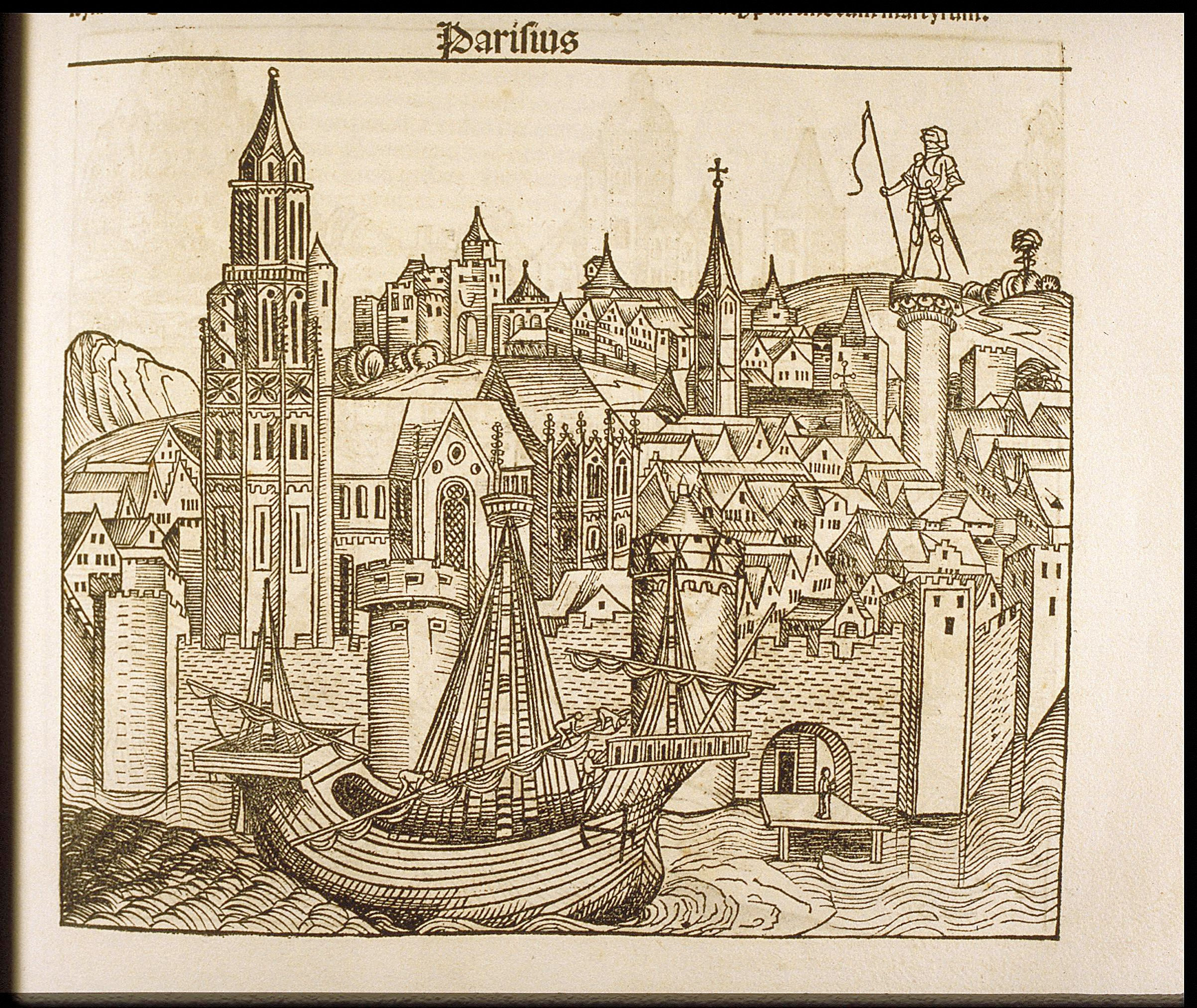 File:Parisius (from the Nuremberg Chronicle), ca. 1493 - Cornell University