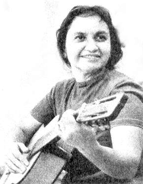 Depiction of Violeta Parra