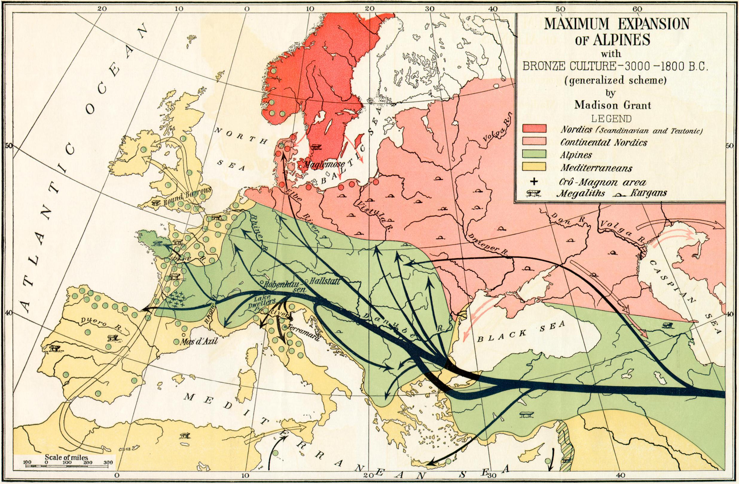 Autosomal map  Mediterranean admixture from Dodecad