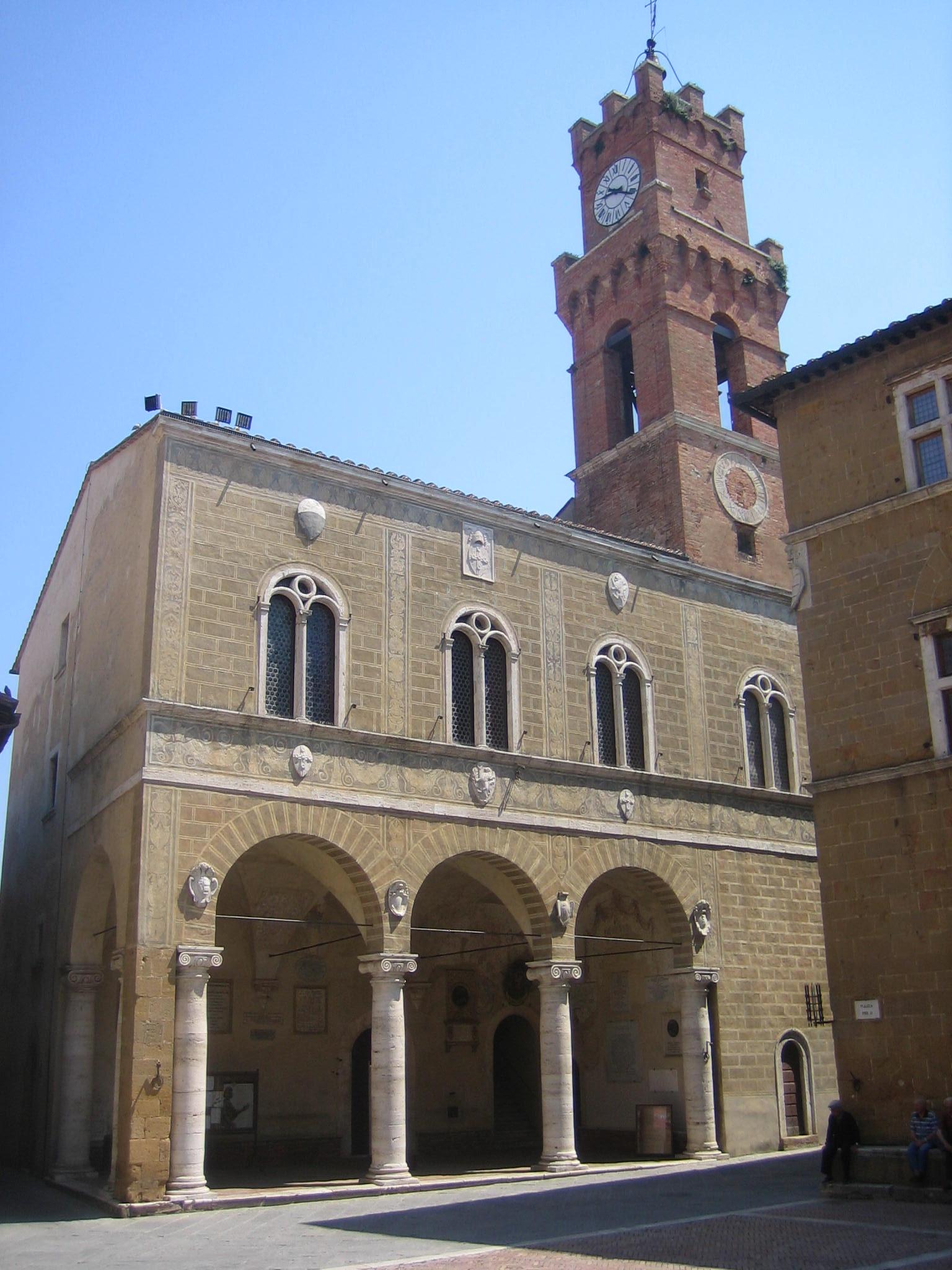 Pienza, Palazzo comunale